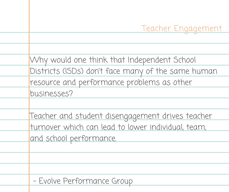 What's Working: Teacher Engagement and Teacher Leadership